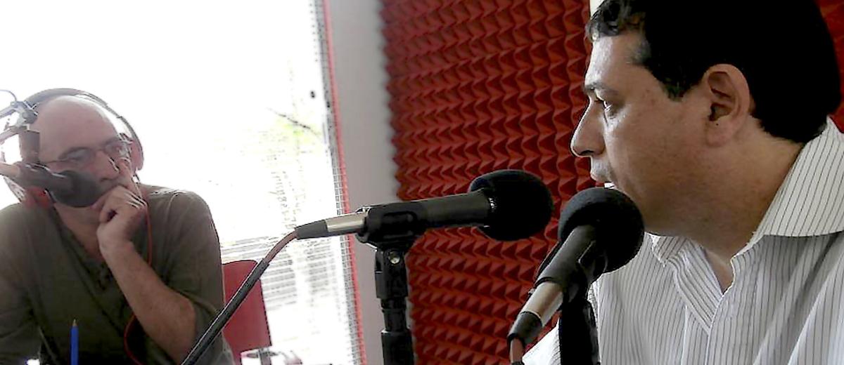 """Photo of Marcos García: """"La gente está esperanzada en un cambio"""""""