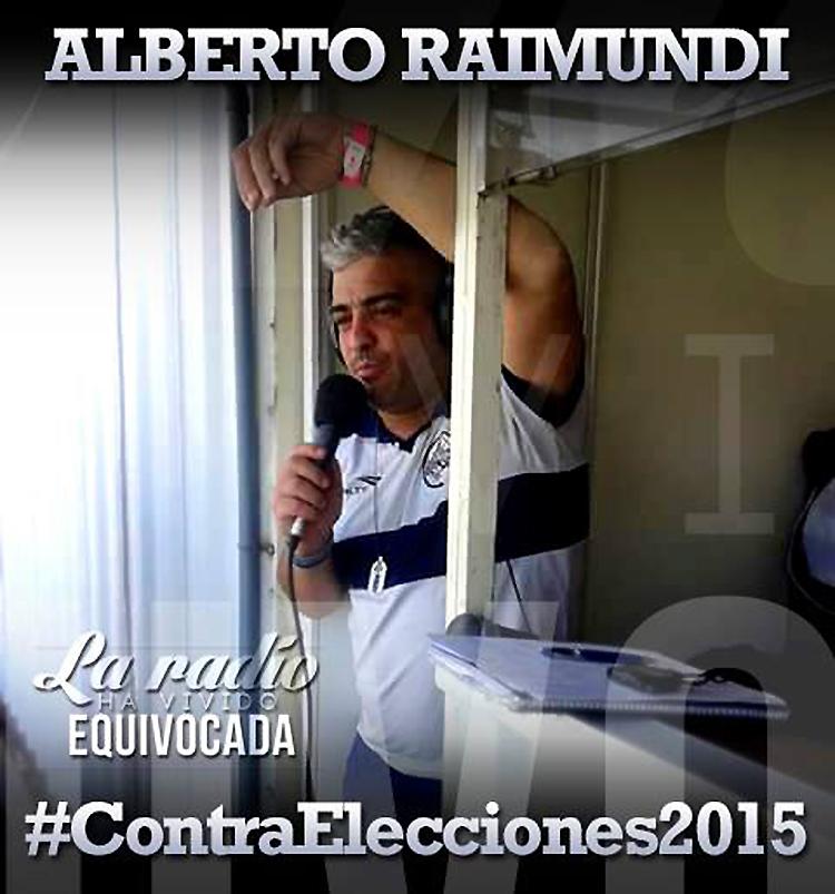 """Photo of Alberto Raimundi: """"No me banco la hipocresía de los domingos de elecciones"""""""