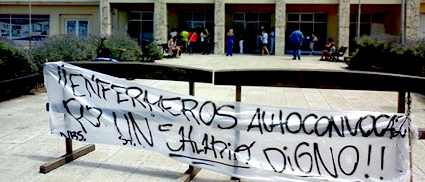 Photo of Enfermeros agredidos por la Seguridad del Gobierno