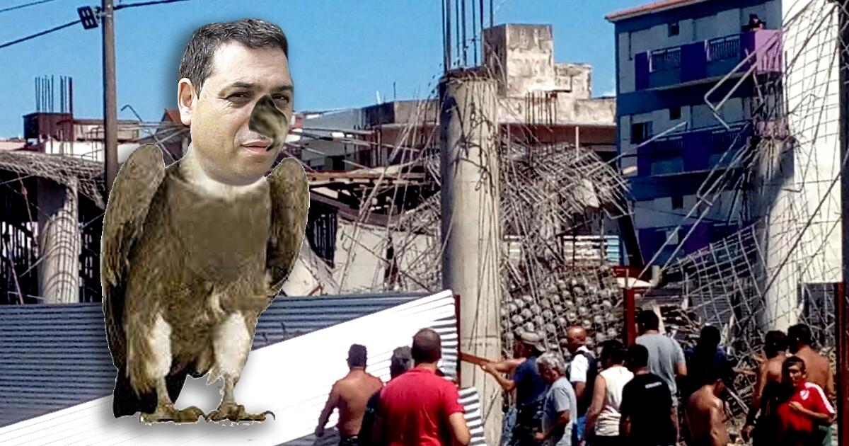 Derrumbe Santa Teresita