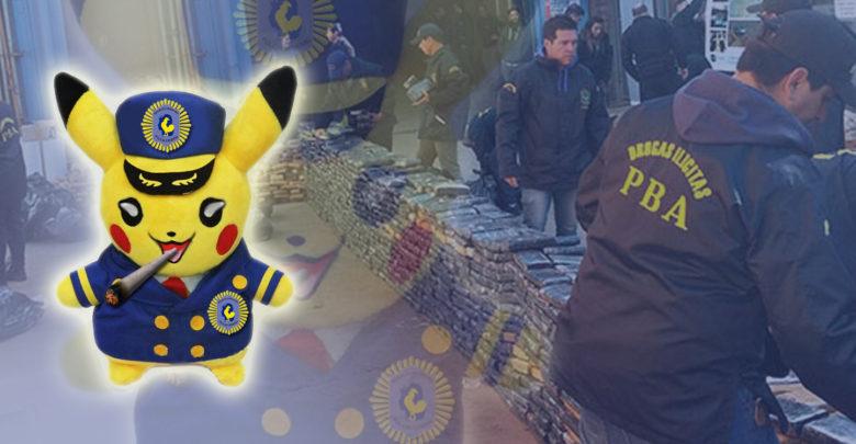 Pikachu Comisario Pilar