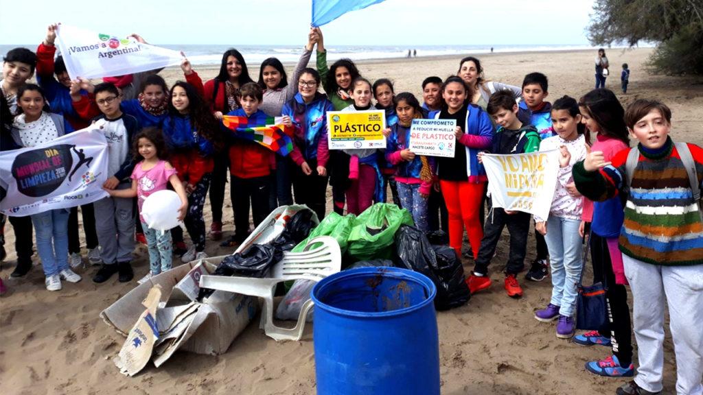 Limpiamos playa
