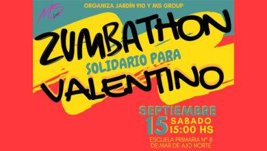 Photo of Zumbathón solidario por Valentino