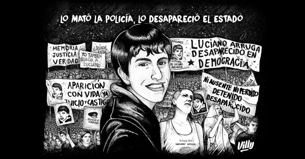 Luciano Arruga diez años