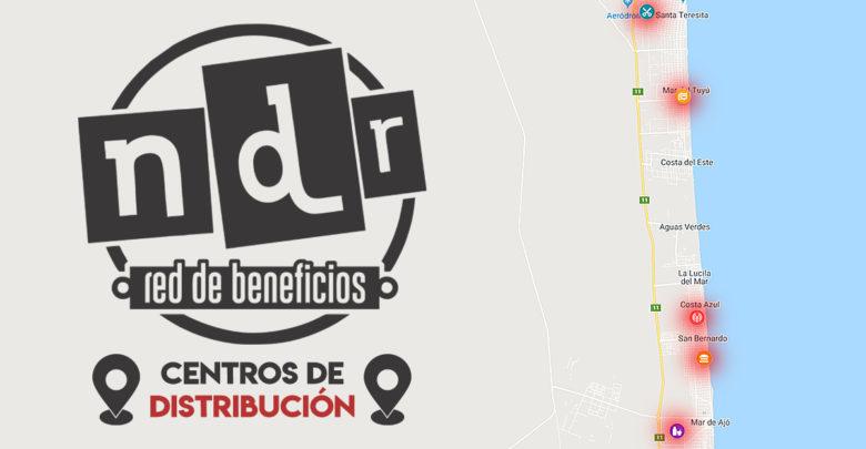 Centros de distribución NdR