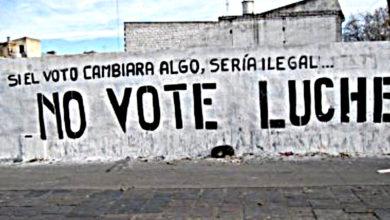 Photo of La lucha está en las calles y no en las urnas