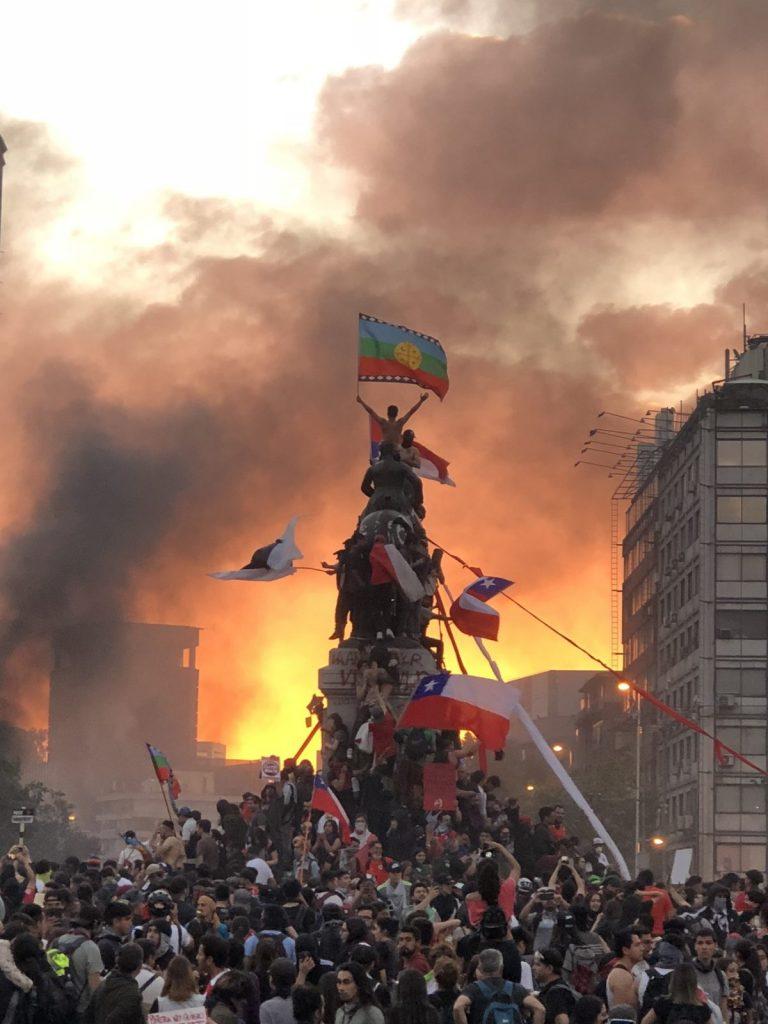 Chile-lucha