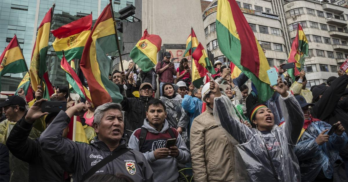 Crisis Bolivia