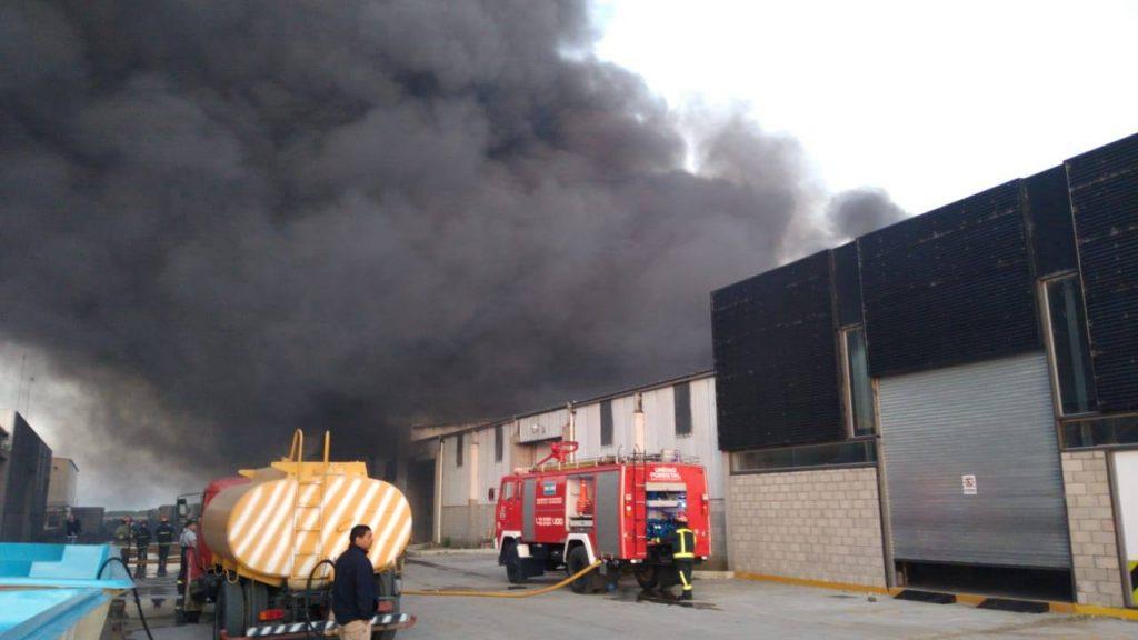 Incendio Canela
