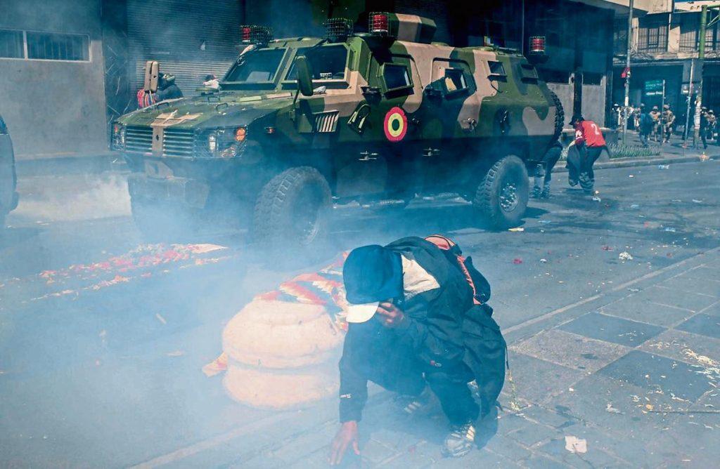 Represión Bolivia