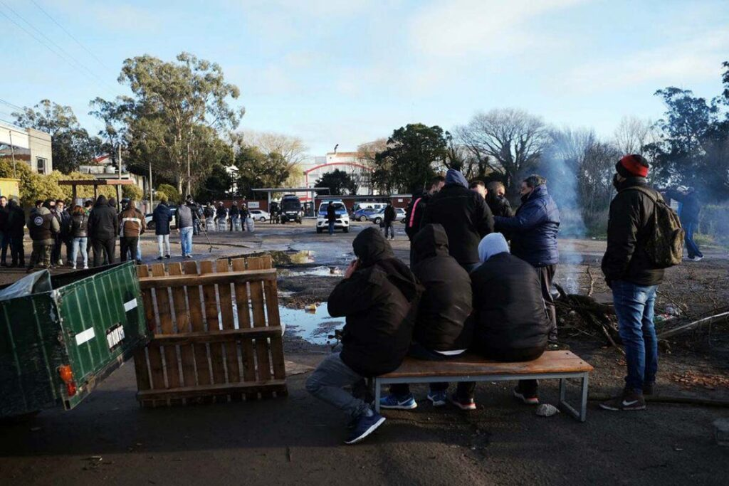 Represión UTA Mar del Plata