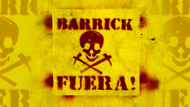 Barrick FUERA