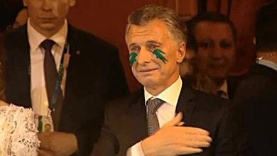 Llanto Macri