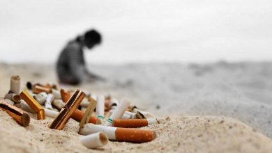 Cigarrillo playa