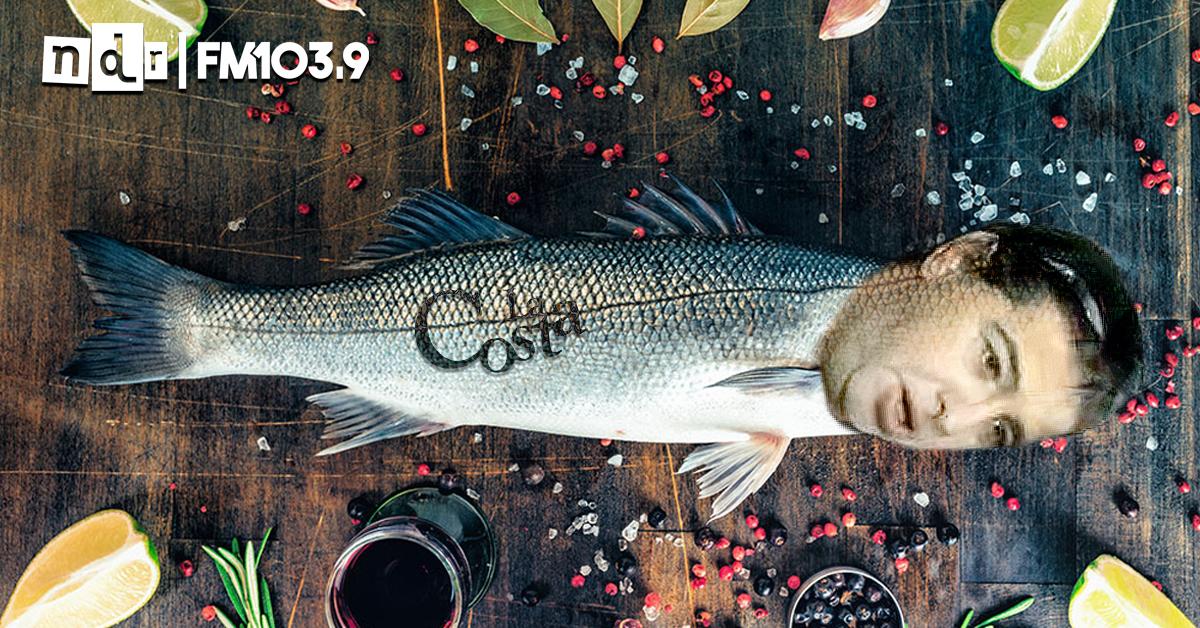 Néstor Cardone pescado