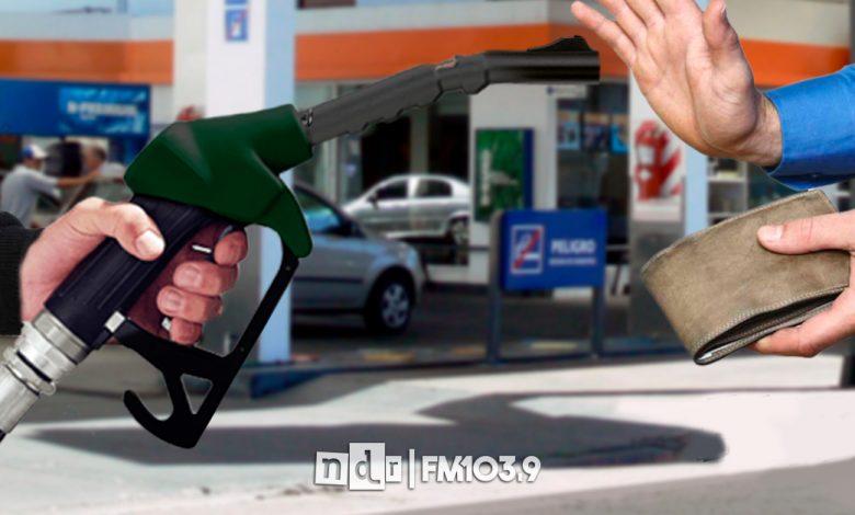 Aumento nafta