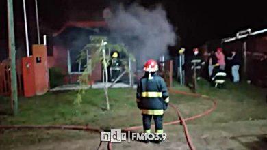 Incendio Las Toninas