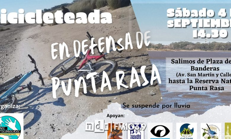 Bicicleteada Punta Rasa