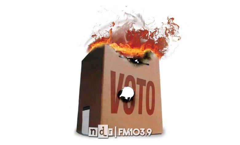 Voto a NADIE